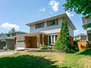 2 Story House In Oshawa for Rent With Finished Bsmt