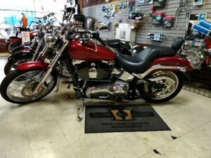 LIKE NEW 2004 HARLEY DAVIDSON SOFTAIL DEUCE FXSTD  ONLY 8892 KM