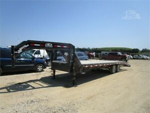 28 to 36 feet flatbed trailer