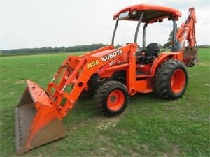 2016 Kubota M59 Tractor + Attachments