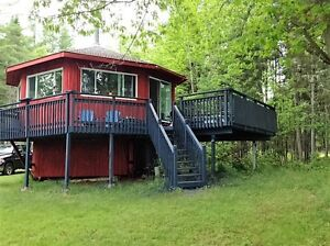 Waterfront cottage for sale on Grand Lake