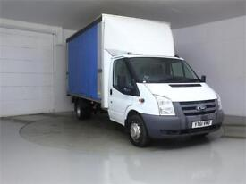 2011 FORD TRANSIT 350 TDCI 140 E/F LWB CURTAIN SIDE BOX DRW RWD CURTAIN SIDE DIE