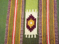 wool/cotton Rug - Bright Colors Perfect Condition
