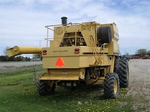 1995 New Holland TR97 Twin Rotor Combine London Ontario image 4