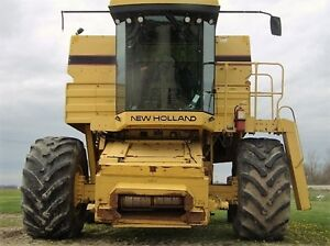 1995 New Holland TR97 Twin Rotor Combine London Ontario image 7