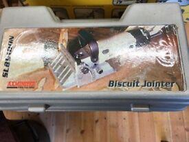 Axminster Tilting Biscuit Jointer SLB9100N