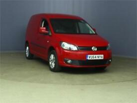 2014 VOLKSWAGEN CADDY C20 TDI 102 BMT HIGHLINE PANEL VAN DIESEL