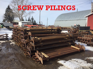 Screw Pilings/Helixes/Processed Pipe For Sale