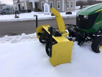 Snow Blowing in Cornwall and Area