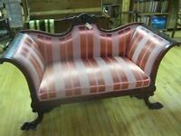 Victorian Loveseat Settee UP TO 60% OFF SALE