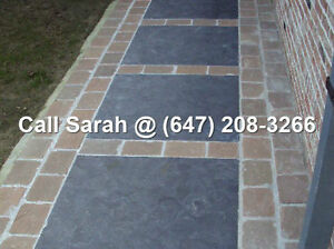 Antique Black Paving Stones Antique Black Flagstone Pavers Patio