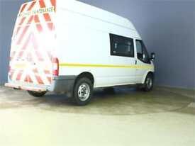 2012 FORD TRANSIT 350 TDCI 115 LWB HIGH ROOF 8 SEAT MESS VAN RWD VAN LWB DIESEL