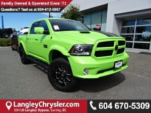 2017 RAM 1500 Sport *ACCIDENT FREE*ONE OWNER*LOCAL BC CAR*