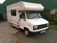 1989 talbot express motorhome campervan 5 berth 5 seat belts full mot ready to go
