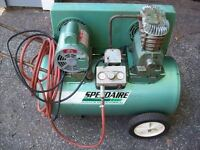 Speedaire  2HP Portable Compressor ( USED )