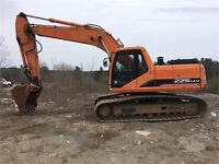 FOR RENT: 20 Ton Excavator with Operator