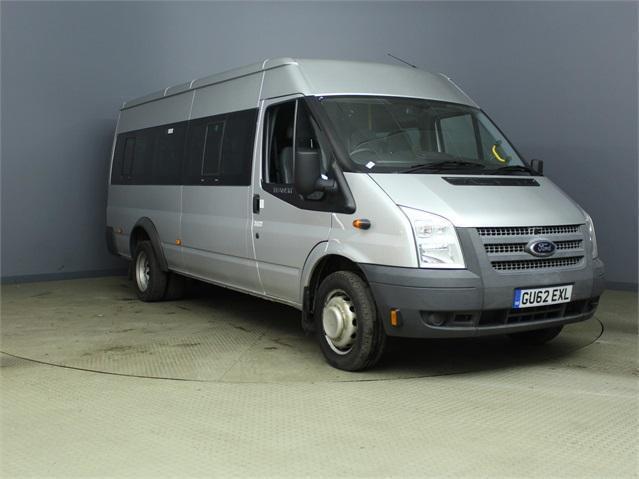 2012 FORD TRANSIT 430 TDCI 135 EL LWB MEDIUM ROOF 17 SEAT BUS RWD MINIBUS DIESEL