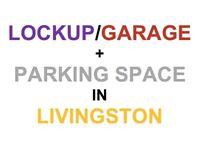 Lock-up Garage + Parking Space in front of garage
