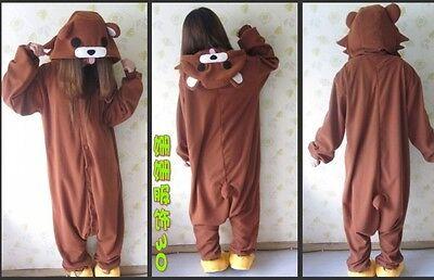 Cosplay Anime Animal Bear Costume Women Men Unisex Pajamas Carnival Pyjama