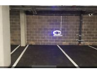 Secure underground car parking in Haggerston/Hoxton area