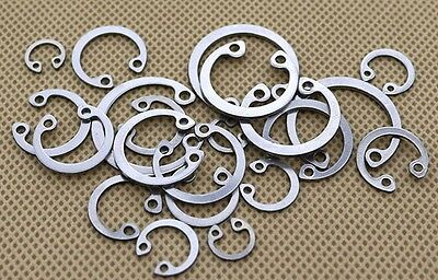 Internal Snap Retaining Rings Circlip Fastener GB893 Stainless Steel 304 ¢8-¢36