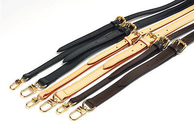 Real Leather Replacement Adjustable Shoulder Crossbody Strap Handbags Purse NEW