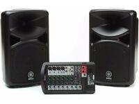 Yamaha STAGEPAS 400i speakers
