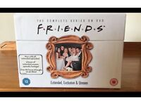 Boxes Collectors edition- complete friends DVD box set - hardly used