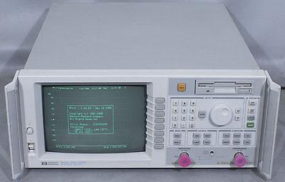 Hpagilent 8711c Rf Network Analyzer 300 Khz To 1.3 Ghz 1ec1c21f7