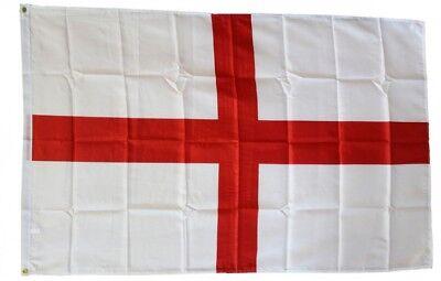 ENGLAND FLAG 3 x 5 FOOT FLAG -  NEW HIGHER QUALITY ULTRA KNIT 3x5' FLAG