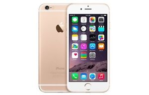 Gold iPhone 6 16gb like new!  With Otter Box