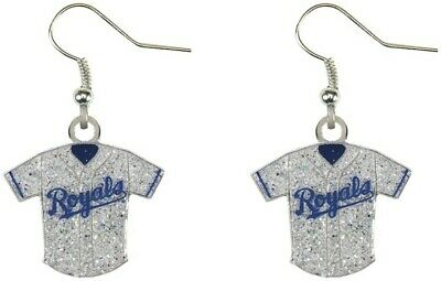 MLB Baseball Team Logo Womens Ladies Glitter Jersey Earrings Pick Your Team