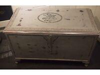 Stubby bespoke shabby chic trunk