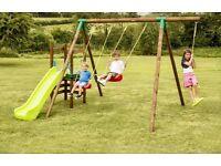BRAND NEW Little Tikes Hamburg Swing and Slide Garden Set