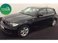 £153.79 PER MONTH BLACK 2009 BMW 116 2.0 SE 5 DOOR PETROL MANUAL