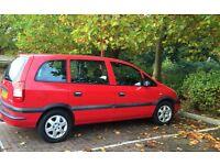 Spares or Repair ,Vauxhall Zafira,1600cc, Petrol,98k miles.