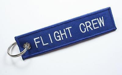 Flight Crew Keychain For Flight Crew Members, Pilots, Airplane Owner, Travellers