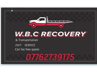 w.b.c.recovery an transportation 24 hour service