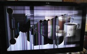 We buy TV 's- DAMAGED SCREEN and NON WORKING tv's.WE FIX TV'S
