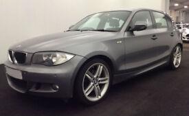Grey BMW 120d 2.0 M Sport 2010 Manual Alloys FROM £25 PER WEEK!