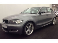 Grey BMW 120d 2.0 M Sport 2010 Manual Alloys FROM £25 PER WEEK!