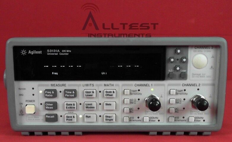 HP - Agilent - Keysight 53131A Frequency Counter, 225MHz