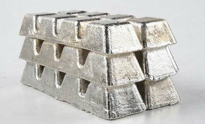 Tin Metal Ingot 99.9 Pure 4 Pounds Raw Tin Metal Ingot