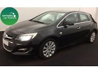 ONLY £162.64 PER MONTH BLACK 2013 VAUXHALL ASTRA 1.6 ELITE 5 DOOR DIESEL MANUAL
