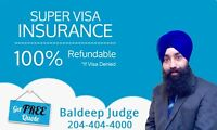 **** SUPER VISA INSURANCE- Up to 45% Discount****