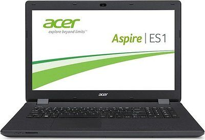 15,6 /39,6cm Notebook Acer Aspire ES1 AMD 2x1,35GHz 8/500GB HDMI USB3 Win10