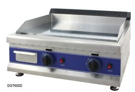 Gas Griddle - 65 cm - Natural Gas - 20 mbar