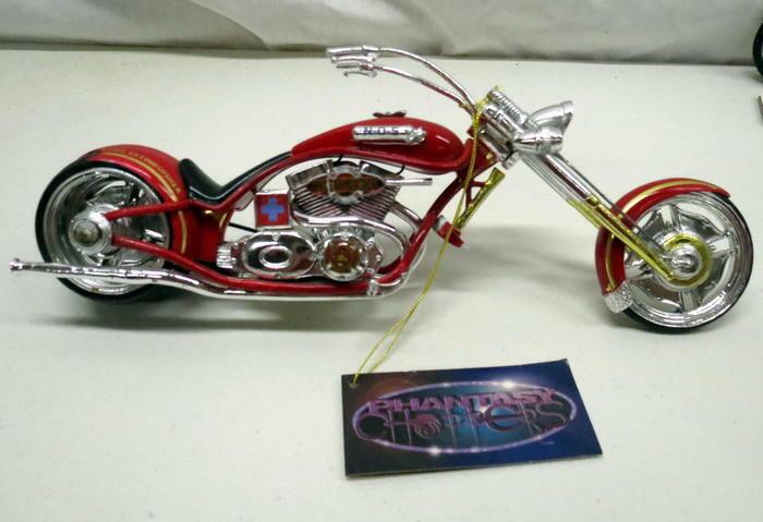 The Extinguisher Phantasy Chopper Custom Motorcycle Firefighter Bike Westland