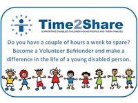 Volunteer Befrienders for children in Midsomer Norton / Radstock