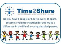 Volunteer Buddy to a child in Bath